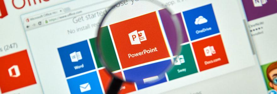 PowerPoint en diaporama