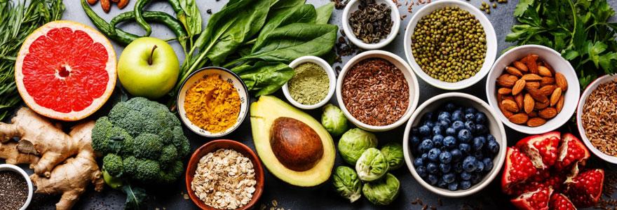 produits bio et sains