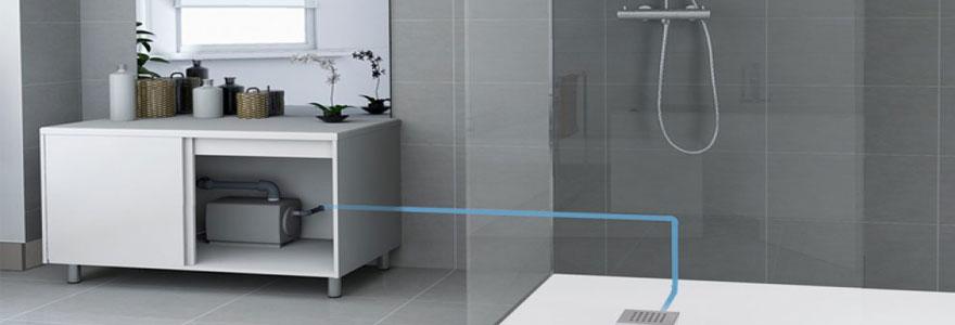 relevage des eaux chargées de WC