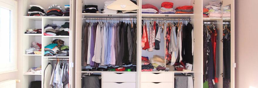 Stocker vos habits et vos accessoires