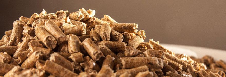Utiliser des granulés de bois